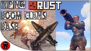 """Foundation Wiping A Clan's """"UNRAIDABLE BASE"""" : RUST"""