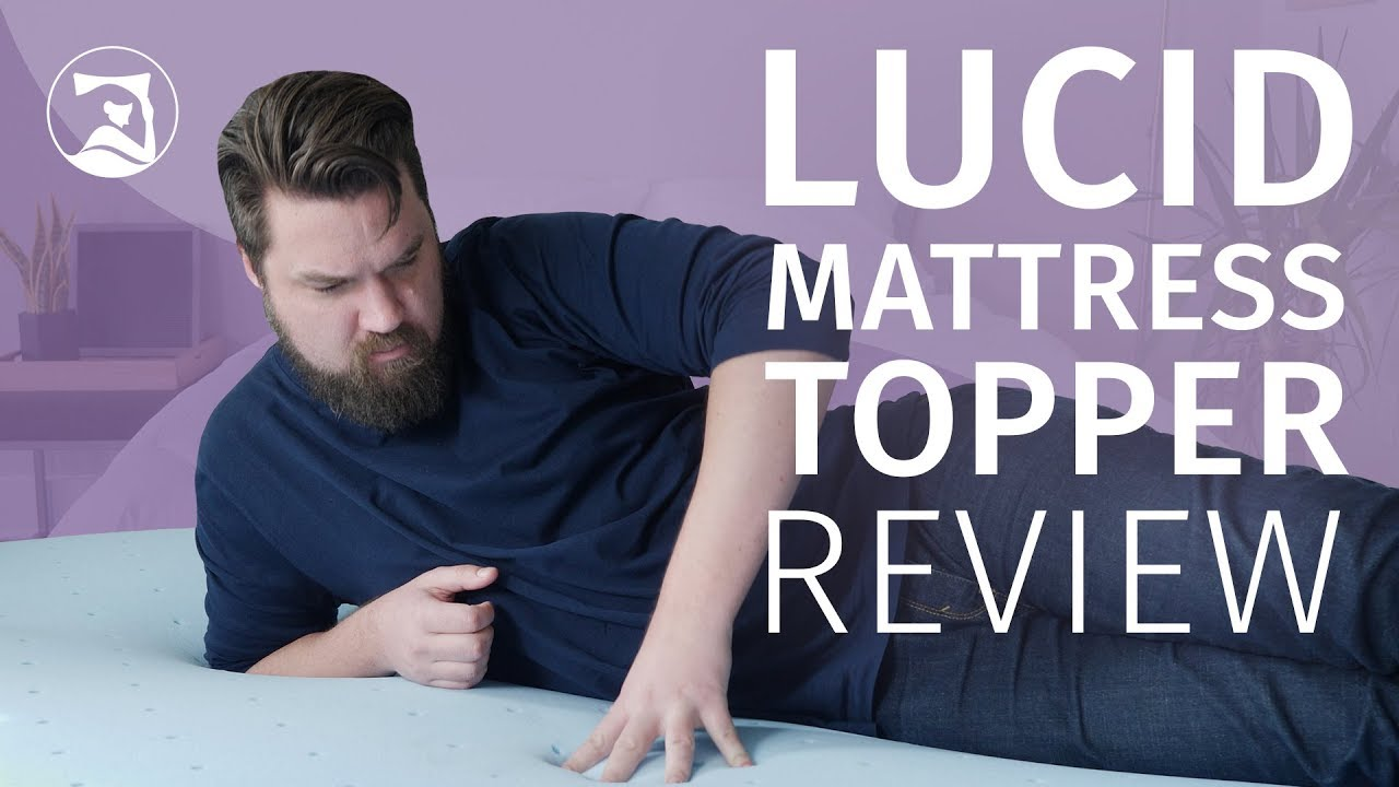 Lucid Gel Memory Foam Mattress Topper Review   A Soft Addition
