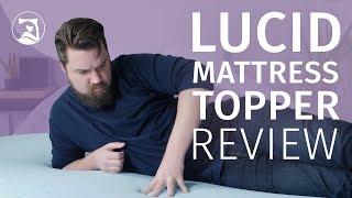Lucid Gel Memory Foam Mattress Topper Review - A Soft Addition?