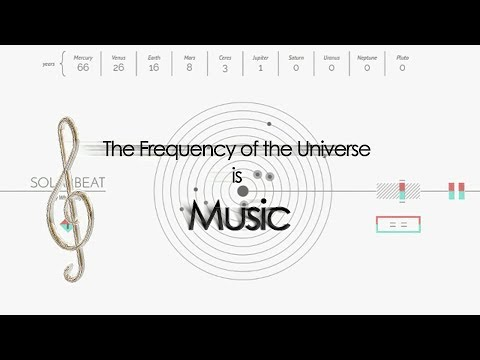 The Frequency of the Universe is Music - (Without Music)