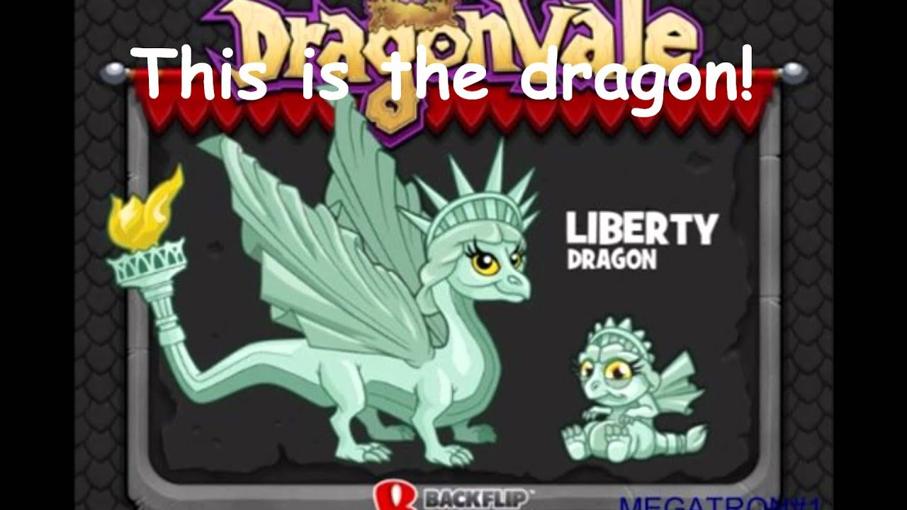 Liberty Dragon How To Breed Dragonvale Youtube