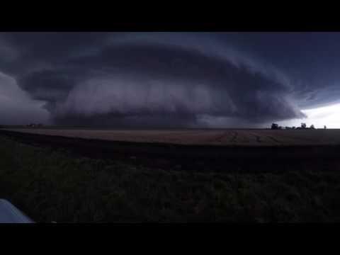Severe Supercell Thunderstorm - Australia. Dec 2015