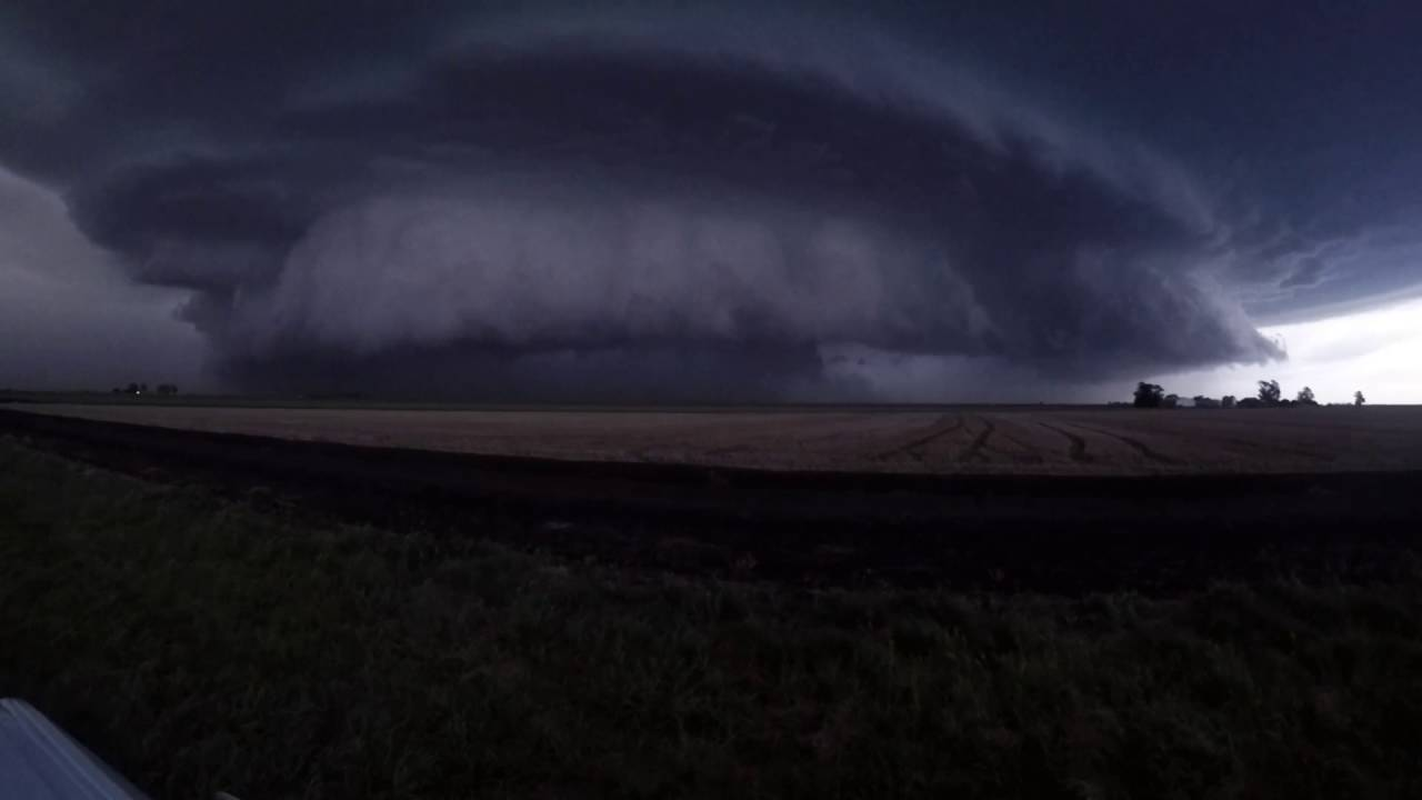severe supercell thunderstorm - australia  dec 2015