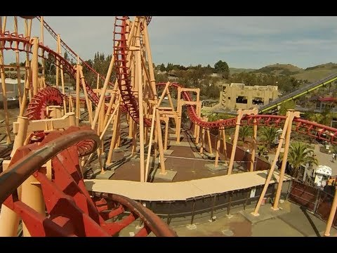 Kong (Front Seat HD POV) - Six Flags Discovery Kingdom
