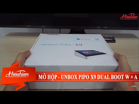 [Hieuhien.vn] Reviews mở hộp PiPO X9 - Dual boot Windows và Android