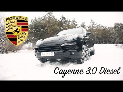 Тест драйв Porsche Cayenne 3.0 diesel вся правда о содержании  / Drive Time