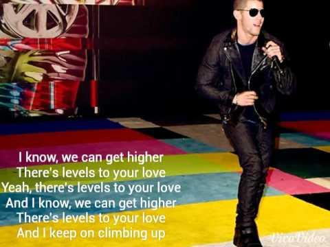 Nick Jonas Levels - Lyric Video