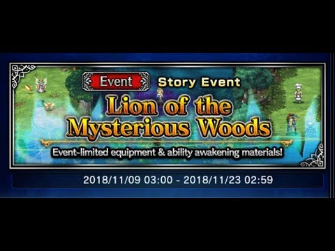[FFBE] Lion Of The Mysterious Woods Bonus Stage OTKO ALL MISSIONS!!!