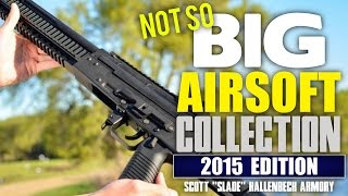 Small Airsoft Gun Collection - 12 Gun Collection: Scott's Personal Armory