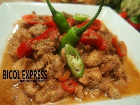 """""""BICOL EXPRESS"""" (Chicken version)"""