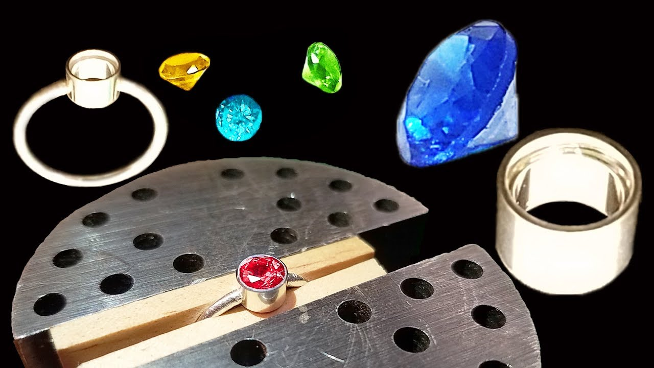 Easily Incorporate Faceted Stones Into Your Work With Tube Setting