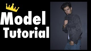 HOW TO POSE LIKE A MALE MODEL!