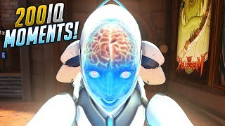 100 Insane 200 IQ PLAYS - Overwatch Compilation