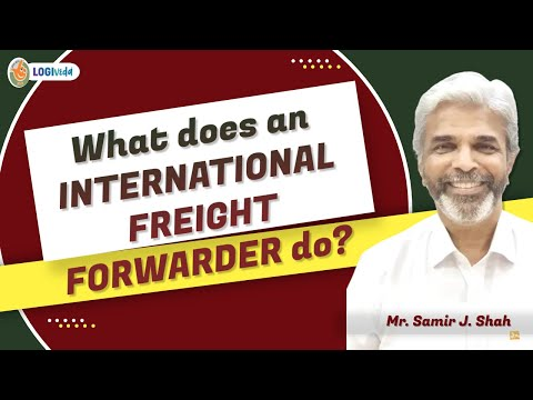 Introduction to International Freight Forwarder with Definition in English | Shipping and Logistics