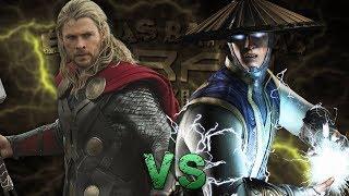 Thor vs Raiden. Épicas Batallas de Rap del Frikismo ¡Bonus! | Keyblade ft. Xenon