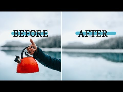 Remove ANYTHING from a photo using Photoshop! - SCARY GOOD software update! thumbnail