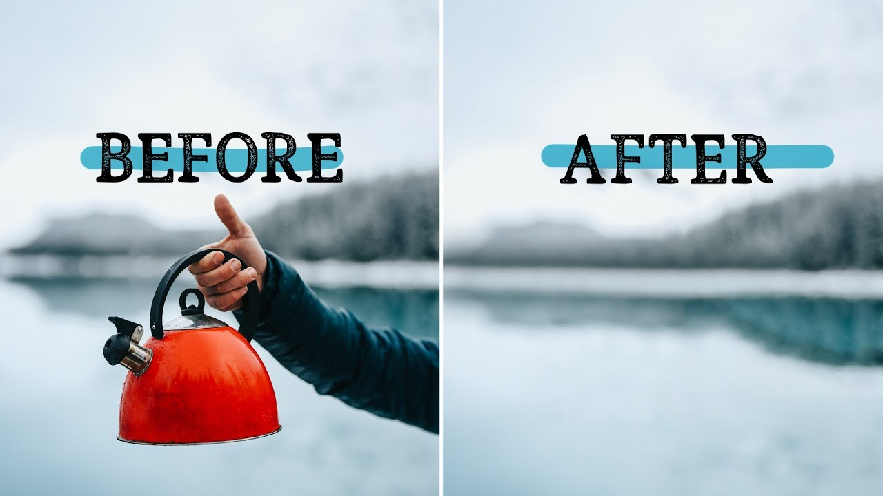 Download Remove ANYTHING from a photo using Photoshop! - SCARY GOOD software update!