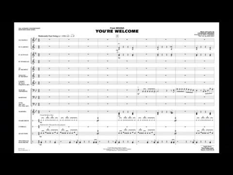 You're Welcome (from Moana) Lin-Manuel Miranda/arr. Matt Conaway
