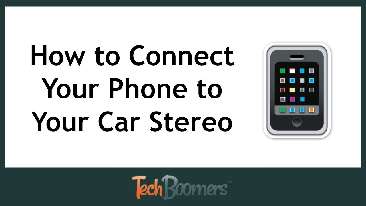 How can you hook up your phone to your car
