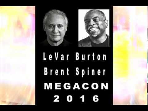 Brent Spiner, & Levar Burton @ MegaCon Tampa Bay 2016.