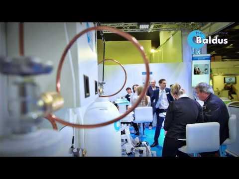 IDS 2015 Lachgassedierung Von Baldus Medizintechnik