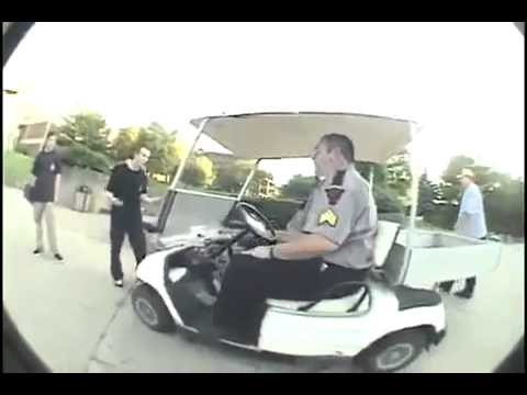 Security guard tries to drive away with skater's board. Wait for it on old yamaha atvs security carts, security security guards for carts, campus security carts, wired security carts, bad boy carts, motorized security carts, used ez go carts, security wire shelving carts, security carts gas, sand wheels for carts, 4x4 electric hunting carts, security laundry carts,