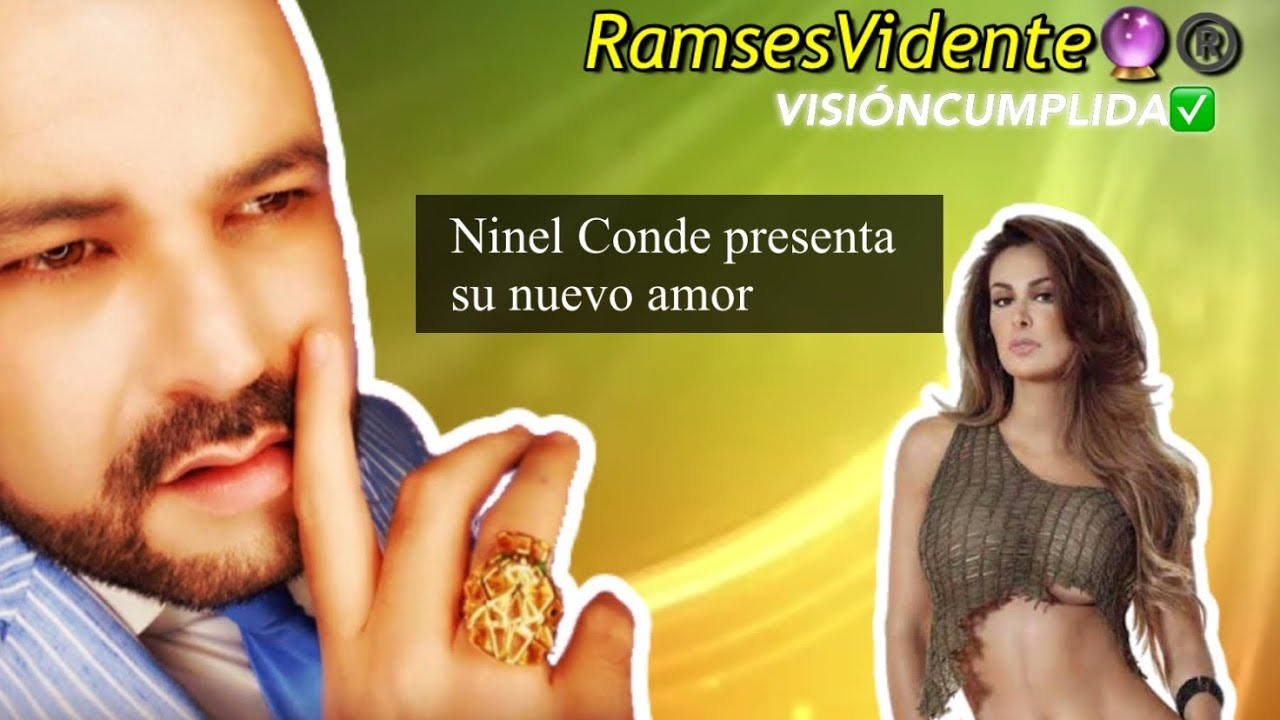 Ninel Conde presenta su nuevo amor 