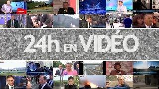 """24h en vidéo - 14/04 - Evry expérimente la voiture """"Big brother"""" et imbroglio autour des APL"""