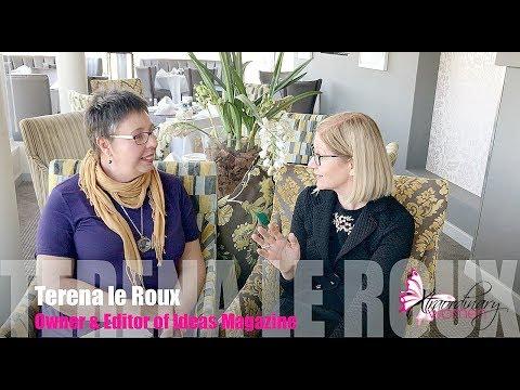 Xtraordinary Women interviews Terena le Roux, Owner & Editor of Ideas Magazine