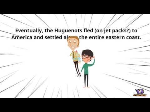 How the Huguenots Began