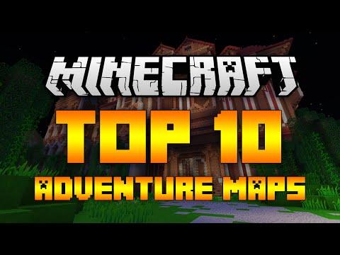 Top 10 Minecraft Adventure Maps (Minecraft 1.12/1.11.2) - 2017 [HD]