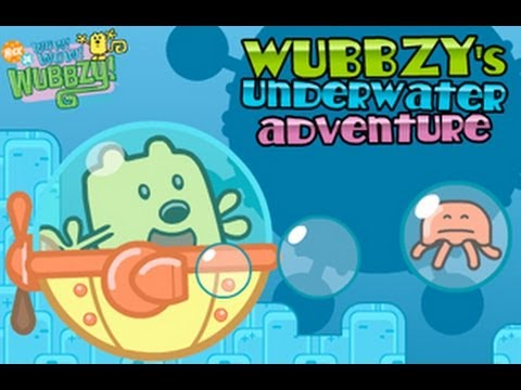 Wubbzy Underwater Adventure Game - Wow! Wow! Wubbzy! …