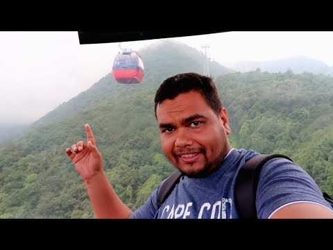 Exploring Chandragiri Hill's Cable Car Thankot,Kathmandu,Nepal