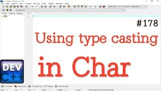 Write a program for show Implicit type casting char to int