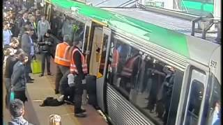 People power frees man trapped by Perth train (PARODY)
