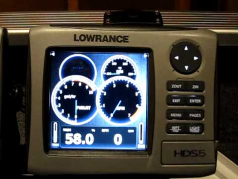 Lowrance Yamaha Engine Interface Youtube