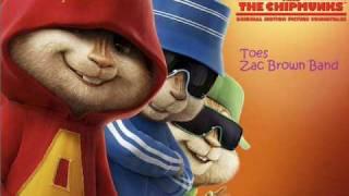 zac brown band toes chipmunk version