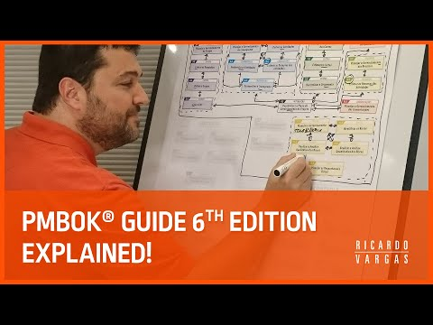 NEW! Elaboration of the Processes Flow of the PMBOK® Guide 6th Edition