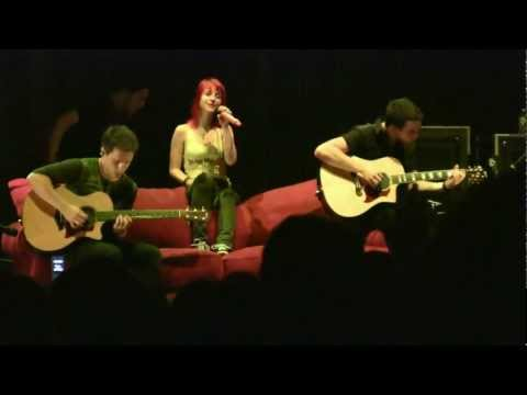 "Paramore- ""Misguided Ghosts"" (HD) Live in Raleigh, NC July 23, 2010"