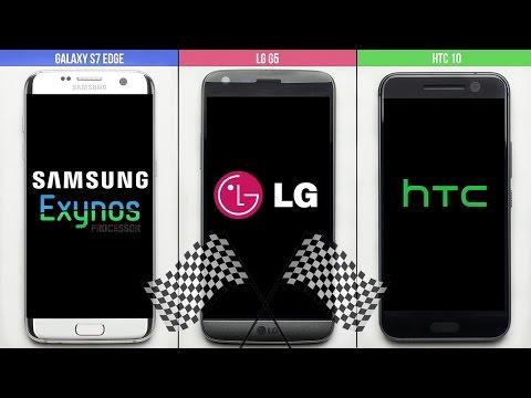 Galaxy S7 vs. LG G5 vs. HTC 10 Speed Test