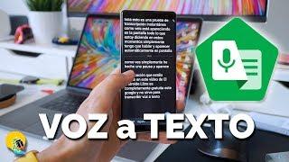 TRANSCRIBE cualquier audio: de VOZ a TEXTO con estas Apps