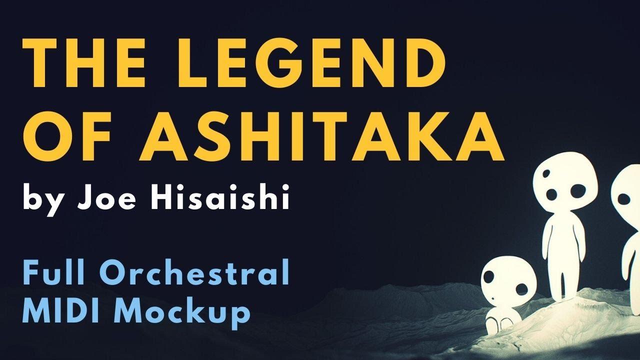 MIDI Mockup of Princess Mononoke: The Legend of Ashitaka by Joe Hisaishi [Orchestra + Huge Choir]