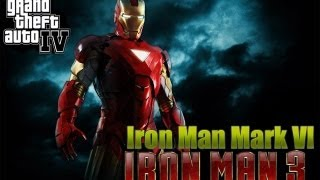 GTA IV IRON MAN 3 MARK VI [Testing/Gameplay/PC] Gameplay HD