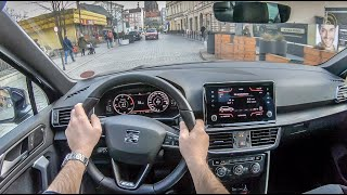 Seat Tarraco | 4K POV Test Drive #185 Joe Black