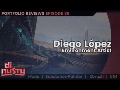 Portfolio Review: Diego López