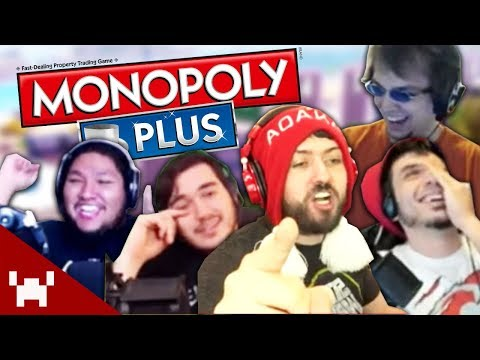 THIS GAME IS RUTHLESS! | Monopoly Plus Five Facecams w/ Ze, Chilled, GaLm, Smarty, & Tom