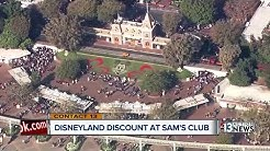 Sam's Club introduces Disneyland discounts