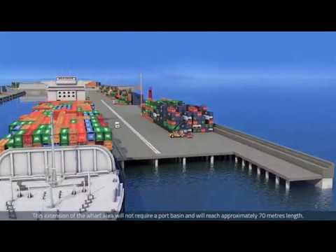 Reconstrucción Terminal Molo Puerto de Iquique