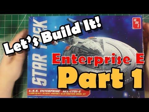 Scale Modeling Tutorial - U.S.S. Enterprise N.C.C. 1701-E - Part 1