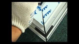 видео Дверь-гармошка из алюминиевого профиля. Купить межкомнатные двери-гармошки в Москве